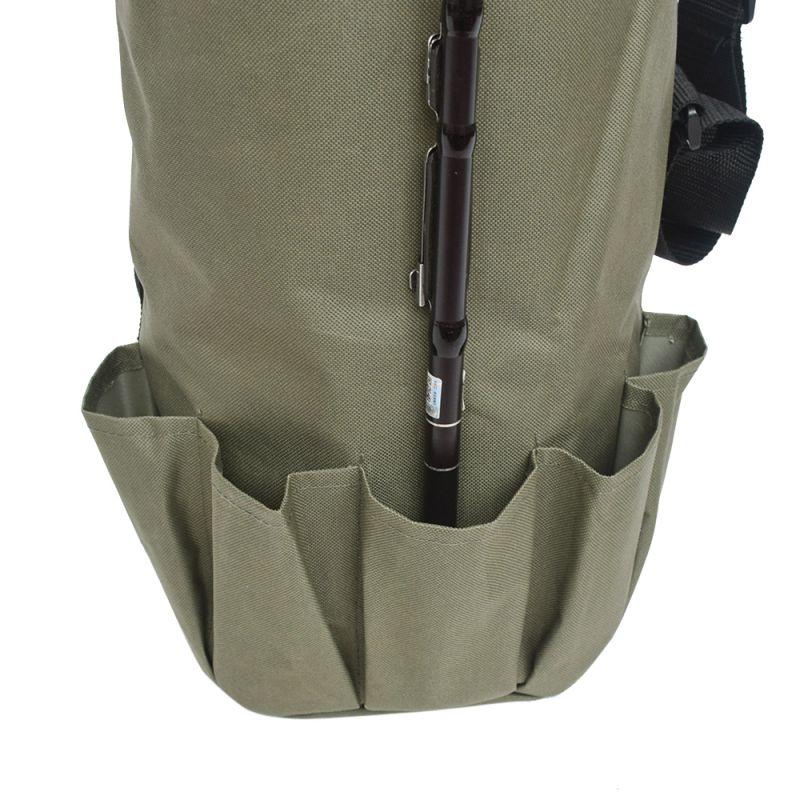 capacidade leve à prova dlightweight água ombro saco de pesca ferramentas