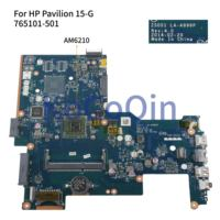 KoCoQin Laptop motherboard For HP Pavilion 15-G 250 G3 255 G3 Core A4-6210 Mainboard ZSO51 LA-A996P 765101-001 765101-501 AM6210