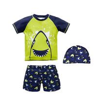 Letnie stroje kąpielowe dla dzieci chłopiec strój kąpielowy dwuczęściowy kostiumy kąpielowe pływanie dzieci kostiumy kąpielowe stroje kąpielowe dla chłopców strój kąpielowy dla dzieci tanie tanio KAVKAS Poliester spandex Pasuje prawda na wymiar weź swój normalny rozmiar Zwierząt Boys baby Szorty planszowe