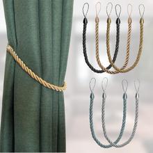 1PC Decorative Tieback Curtain Ropes Holdbacks Tiebacks for Curtain Use with Hook