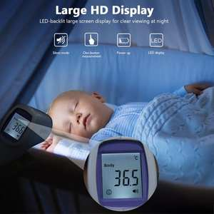 Infrared Forehead Lcd-Display Digital Non-Contact Laser-Temperature-Tool Children Adults
