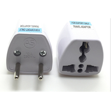цена на AC Electrical Power Rewireable Plug Switch Wire Socket Outlet Adaptor Extension Cord Connector EU US UK Standard