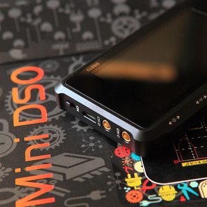 Image 5 - Nowy ręczny 4 kanał 100 ms/s Nano osd DSO213 DS213 oscyloskop cyfrowy LCD pojemnik