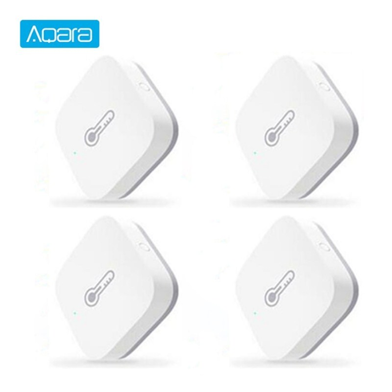 Aqara Smart Air Pressure Temperature Humidity Sensor Environment Sensor ZigBee Wireless Control Works With Mijia Mi Home App