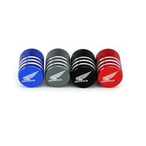 Image 3 - 4PCS Alloy Covers for Honda Civic Accord Fit Jazz CRV HRV Crosstour City Odyssey Insight Pilot Car Wheel Tire Valve Caps Styling