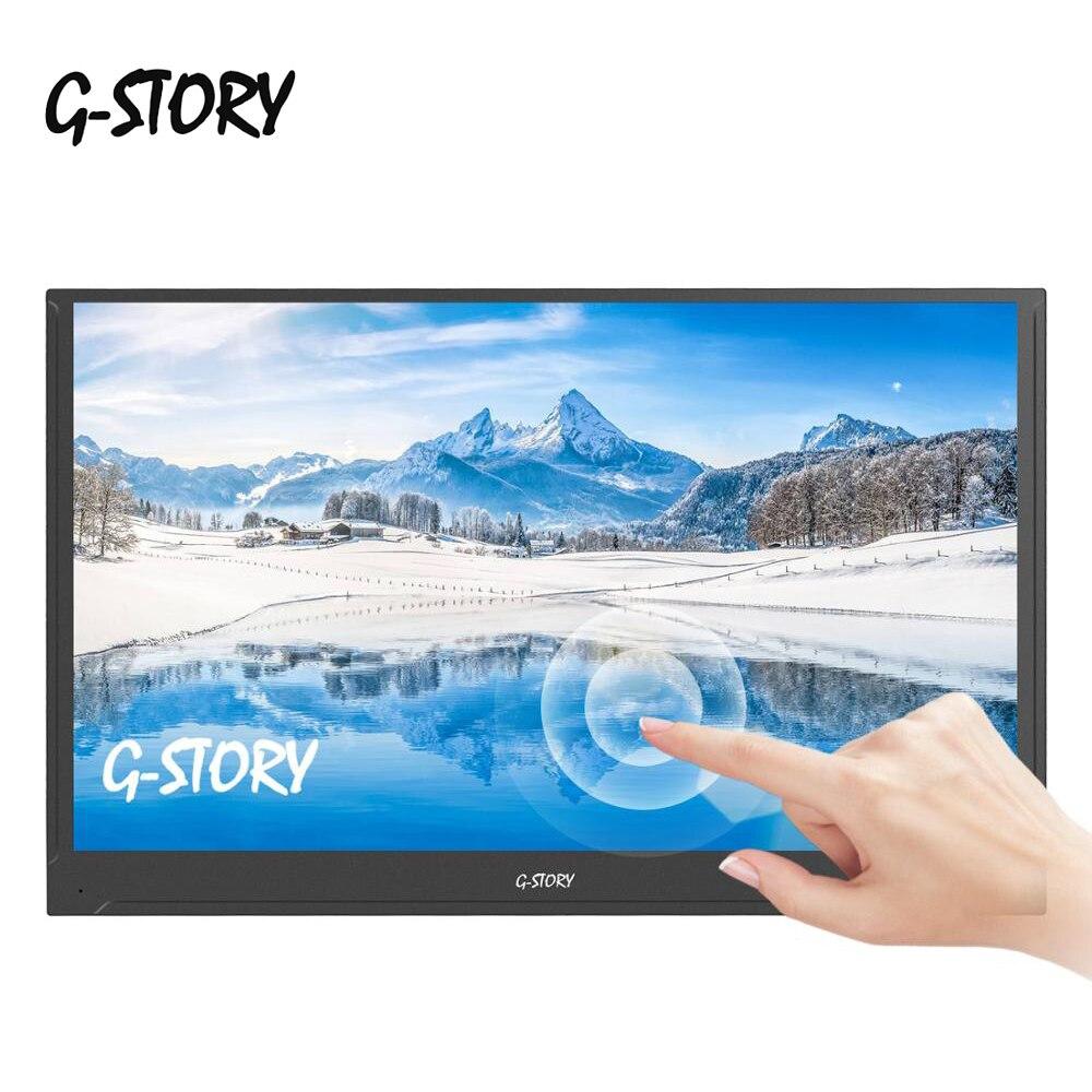 15.6 pouces écran tactile moniteur Portable ultra-mince 1080P IPS HD USB type C affichage pour ordinateur Portable téléphone XBOX commutateur et PS4