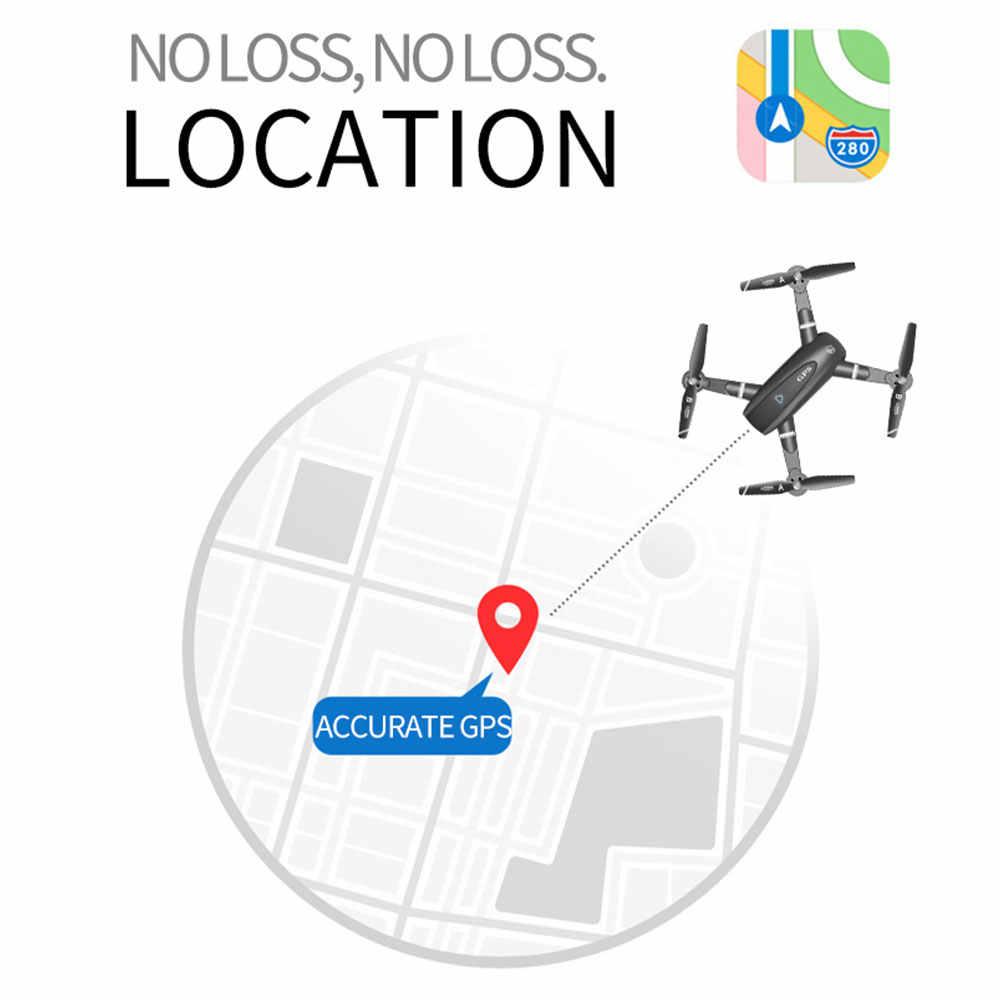 S167GPS Квадрокоптер 2,4 г Wi-Fi 1080P складной Смарт следование точное позиционирование автоматическое возвращение 1 Зарядка сумка для хранения упаковка черный 1080p HD аэрофотосъемка самолет детские игрушки