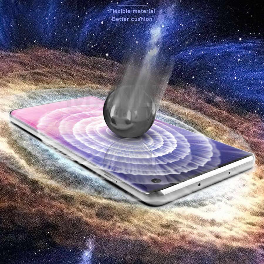 21D Mặt Trước Sau Silicone HydRoGel TPU Cho Samsung Galaxy S20 Cực Note 10 Plus A9 2018 A70 A40 A50 miếng Dán Bảo Vệ Màn Hình