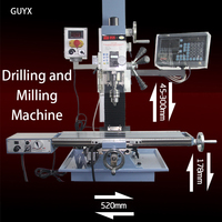 Small multifunctional gantry double sided micro Vertical Drilling and Milling machine CNC machine tool