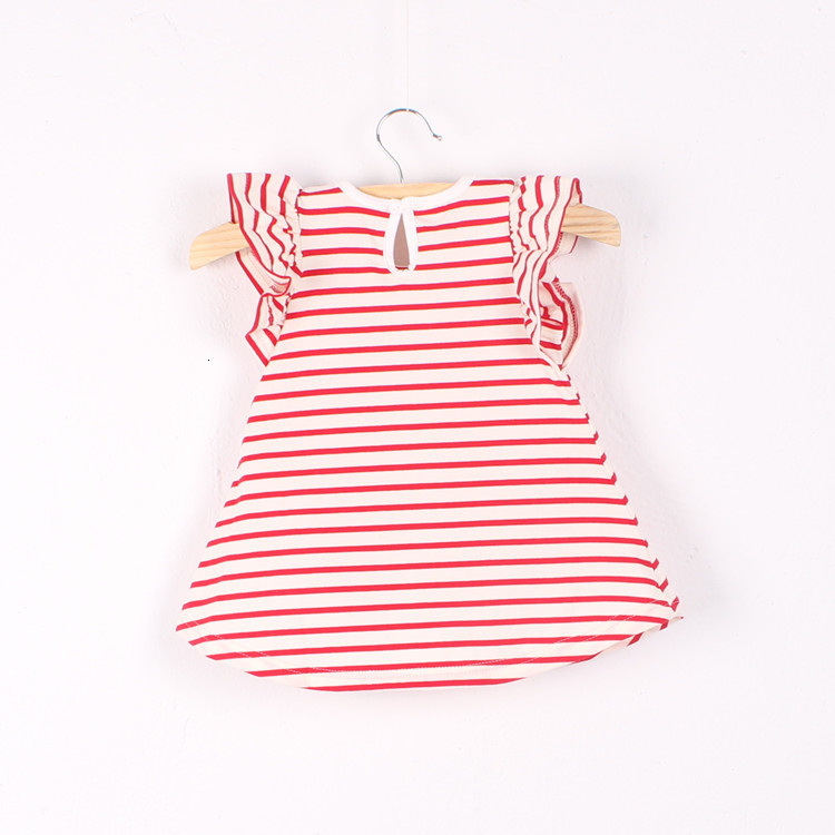 Ha6b7c84ee9d041e68fbfabcc67b3764cv Girls Dress 2018 Summer Explosion Solid Color Denim Dress Cartoon Polka Dot Bow Cartoon Bunny Satchel Korean Baby Cute Dress