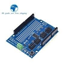 Osłona silnika/silnika krokowego/serwomechanizmu/robota dla zestawu Arduino I2C v2 z górną częścią sterownika PWM