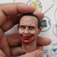 1/6 Scale Head Sculpt Hannibal The Silence of the Lambs Anthony Hopkins Headplay for 12 Action Figure Body Accessories