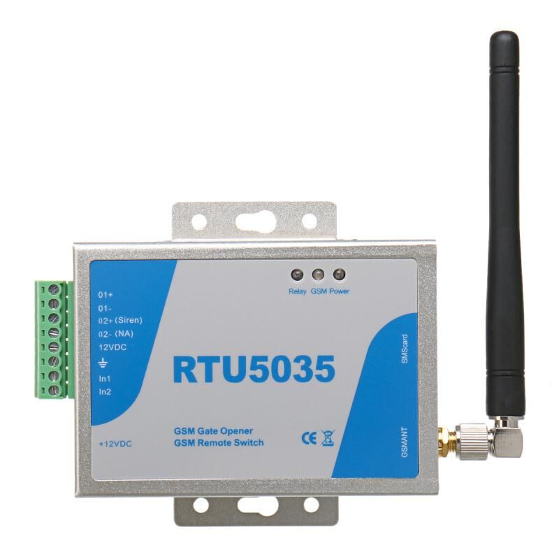 RTU5024 RTU5035 2G GSM Gate Opener Relay Switch Call Remote Controller Phone Shaking Control Door Opener for Parking Systems