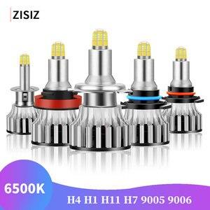 2 шт. H1 светодиодный H7 H11 H8 9005 9006 HB4 HB3 H4 светодиодный светильник Canbus автомобильный головной светильник 120 Вт 18000LM 6500 к светодиодный противотума...