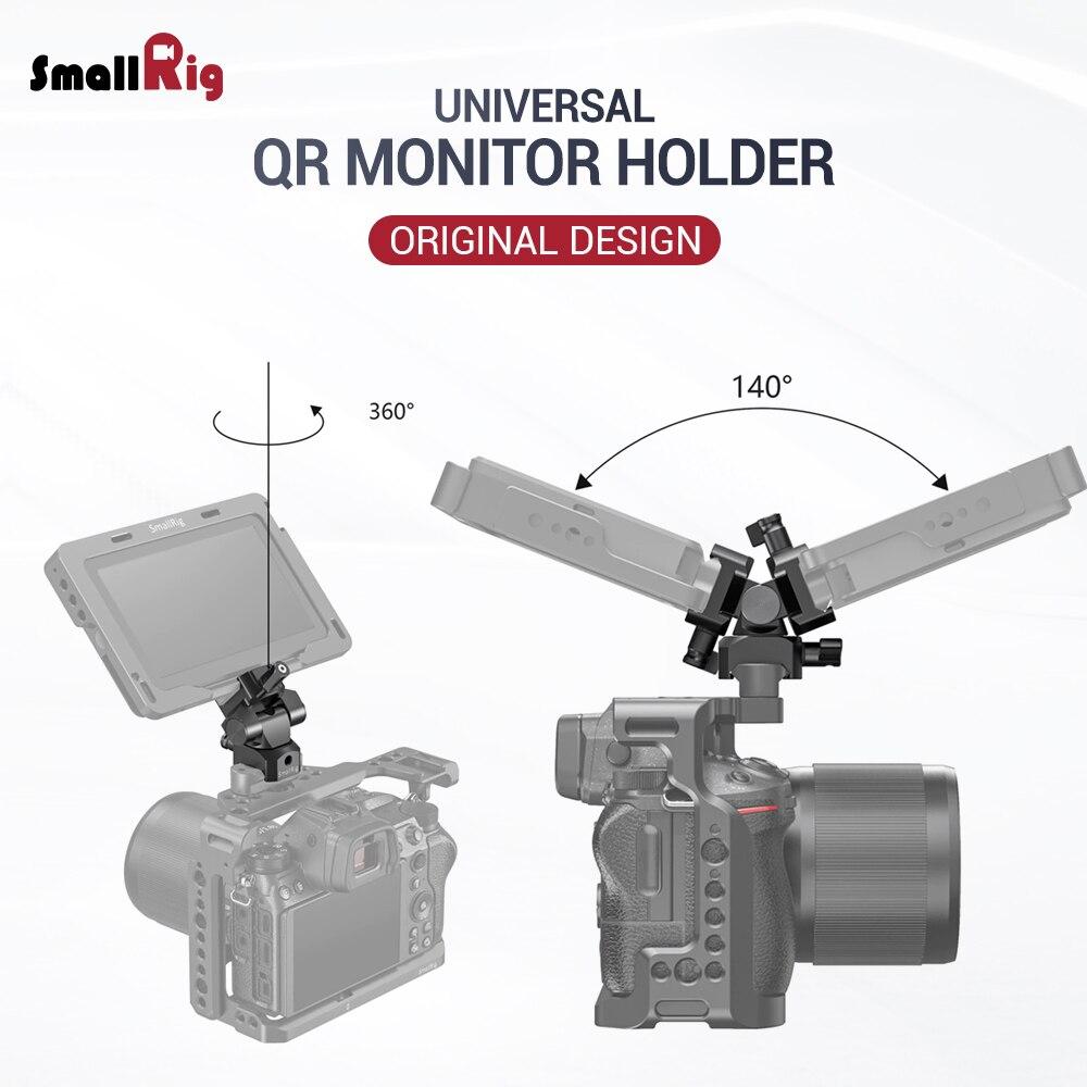 EVF SmallRig Liberação Rápida Montagem Giratória de 360 Graus & Tilt Monitor de 140 Graus Braçadeira de Montagem com a Nato (Ambos Os Lados) braçadeira câmera 2385