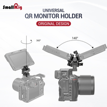 цена на SmallRig Quick Release EVF Mount Swivel 360 Degree & Tilt 140 Degree Monitor Mount with Nato Clamp(Both Sides)Camera Clamp 2385