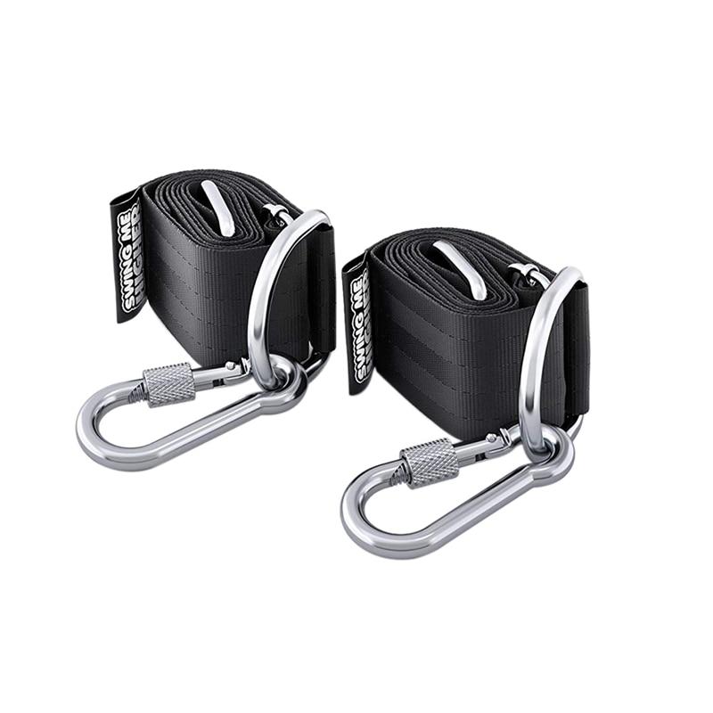 Adjustable Tree Swing Straps Hanging Kit 5Ft Heavy Strap For Tire Swings Hammocks Outdoor Hanger