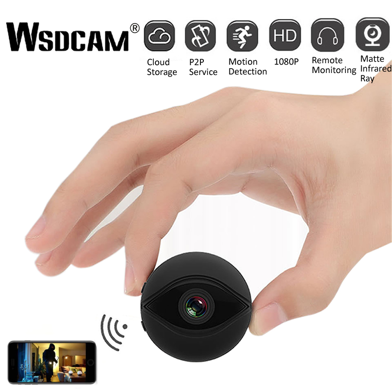 A10 Mini WiFi Camera 1080P HD IR Night Vision Home Security IP Camera CCTV Motion Detection Baby Monitor Wireless DVR Camcorders