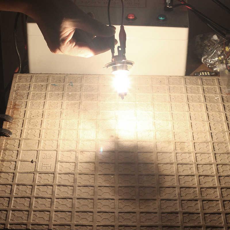 Cawaner 4X100 واط H4 مصباح هالوجين 4300 كيلو الدافئة الأبيض 12 فولت لشركة هيونداي أكسنت 2000-2010 سيارة العلوي ضوء مرحبا/لو شعاع