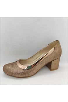 Damskie 5 cm Gova Roz (miedziane) matowe skórzane obuwie codzienne i wieczorowe tanie i dobre opinie