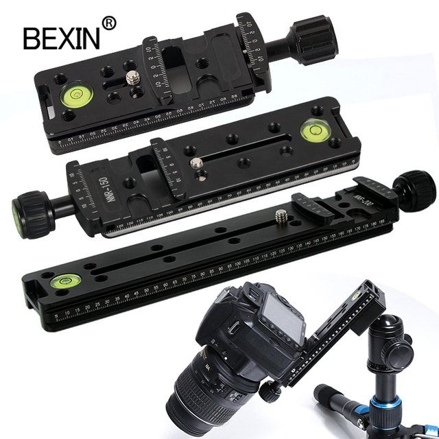 Slide Rail RRS long Quick Release plate Clamp Long focus Zoom Lens Support Holder Bracket for Arca swiss Tripod camera ball head