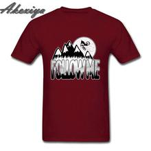 Camiseta divertida Vintage Follow Me, camiseta de ciclismo aeróbica para hombres, camiseta de ciclista de montaña, camiseta de bicicleta MTB, camiseta Formal para hombre joven