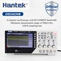 Hantek DSO4254B Digitale Oscilloscopi Usb 250 Mhz 4 Canali 1GS/S Pc Tenuto in Mano Portatile Osciloscopio Portatil Diagnostico-Strumento