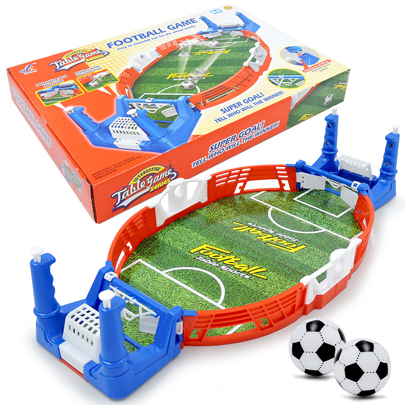 Mini Tabletop Soccer Game Desktop Football Sport Match Machine Educational Double Battle Puzzle Board Party Game Toys For Kid image