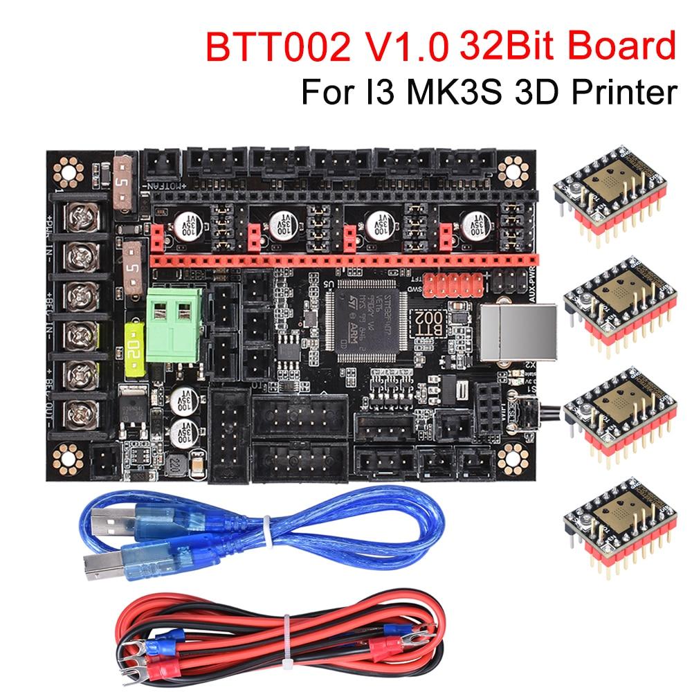 BIGTREETECH BTT002 V1.0 Control Board 32 Bit WIFI 3D Printer Parts +TMC2209 UART VS SKR V1.3/SKR 1.4 Turbo MKS GEN L For I3 MK3S