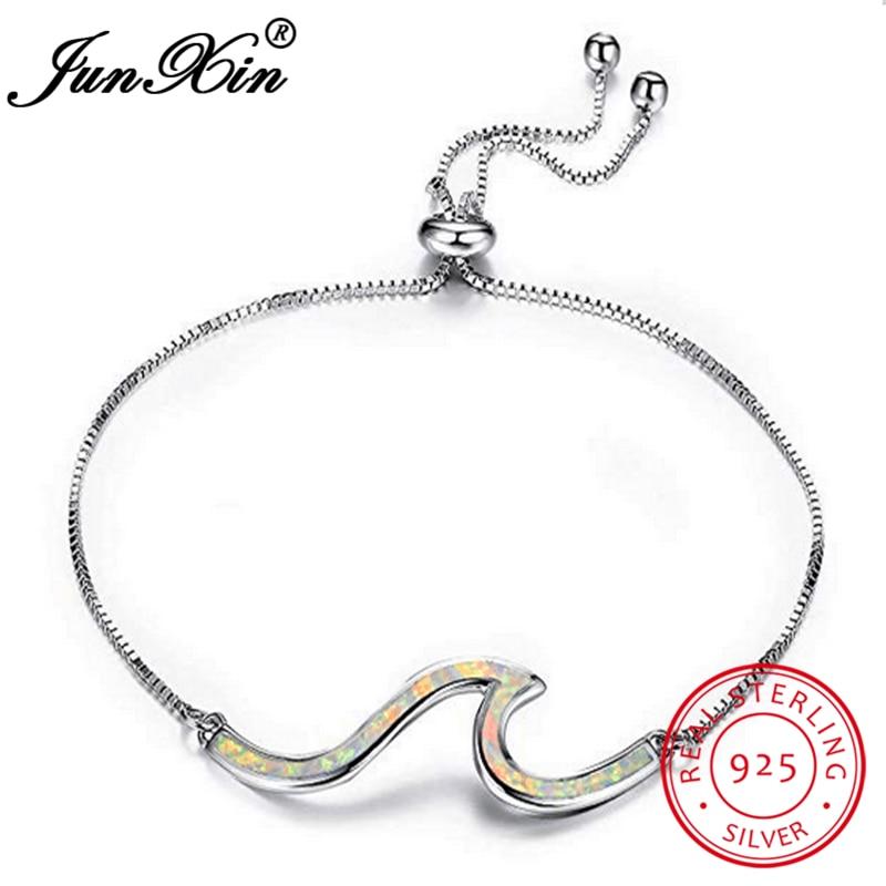White Opal Bracelet