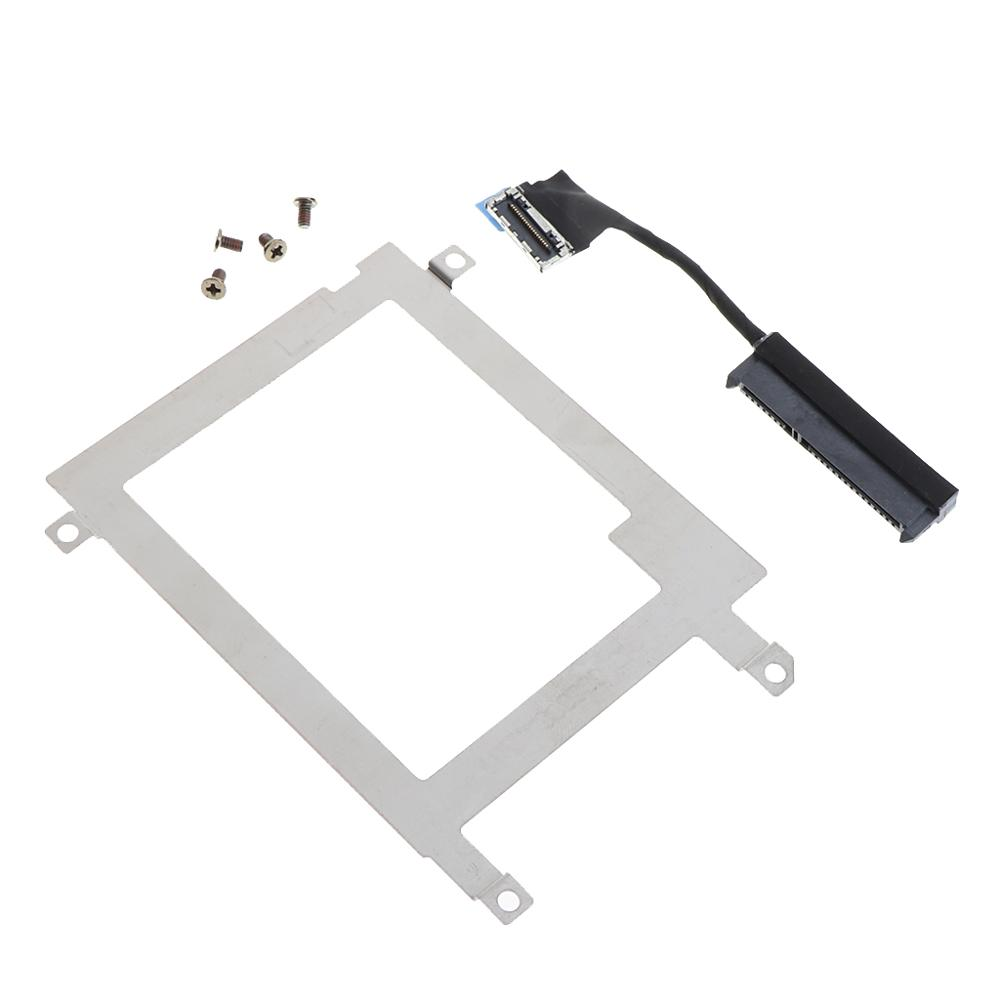 Hard Disk Drive Caddy Tray Bracket SATA Cable Connector For Dell Latitude E7440