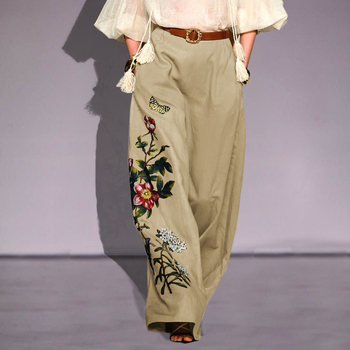 Embroidery Pants  1