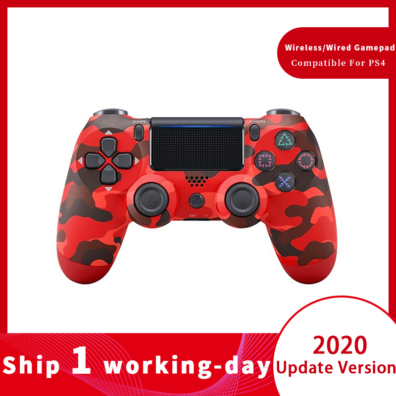 Bluetooth 4.0 Controller Wireless / Wired Gamepad for PS4 Gamepad for Dualshock 4 Joystick for PS3 Controller for Playstation 4(China)
