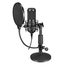 Microphone-Kit BM800 Tripod Condenser Computer Professional Karaoke with for PC Studio