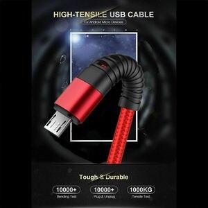 Кабель для быстрой зарядки UGI 2A, зарядный кабель типа C USB C, кабель Micro USB, нейлоновый плетеный кабель для быстрой зарядки, кабель для передачи ...