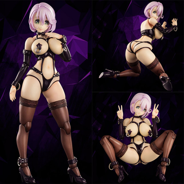 17cm Anime Native shizue minase joint Movable Sexy girls Action Figure japanese Anime PVC adult Figures toys Anime figures Toy