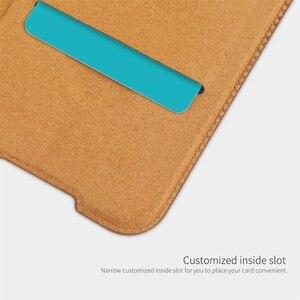 Image 4 - Für Xiaomi Redmi Note 8 Pro Flip Fall Nillkin Qin Vintage Leder Flip Abdeckung Karte Tasche Brieftasche Fall Für Redmi note8 Telefon Taschen