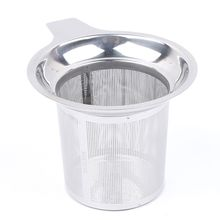 Hot Sale Stainless Steel Mesh Tea Infuser Reusable Strainer Loose Tea Leaf Spice Filters Drinkware Kitchen Accessories