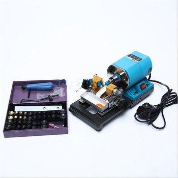Small pearl drilling machine amber honey wax wood pearl Buddha pearl jade adjustable speed drilling machine