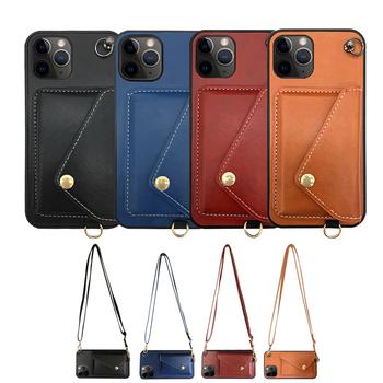 Etui na telefon komórkowy torebka na monety nadaje się do etui na telefon komórkowy Apple messenger tanie i dobre opinie CN (pochodzenie) Etui z portfelem