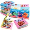 Детские интеллект Тканевые книги Погремушки для новорожденных Обучающие игрушки мягкие Косплэй тканевая книга для возраста от 0 до 12 месяц...