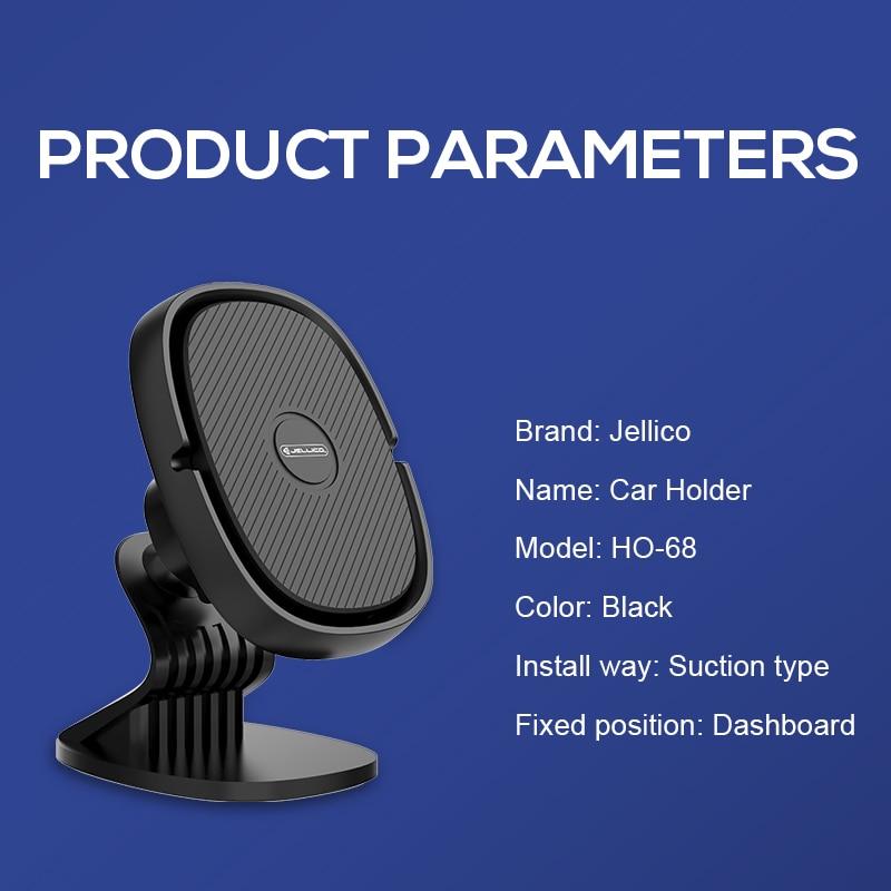 Jellico Auto Telefoon Houder Magnetische Air Vent Clip Mount Magneet Mobiele Telefoon Auto Mobiele Stand Ondersteuning Mobiele Houder In Auto gps 6