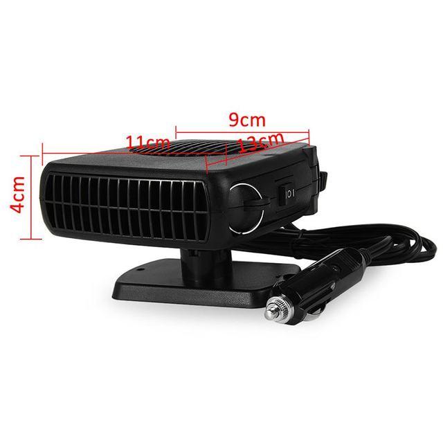 150W 12V voiture Parking chauffage électrique chauffage refroidissement 2 en 1 ventilateur Portable Auto sèche chauffé pare-brise dégivreur désembuage