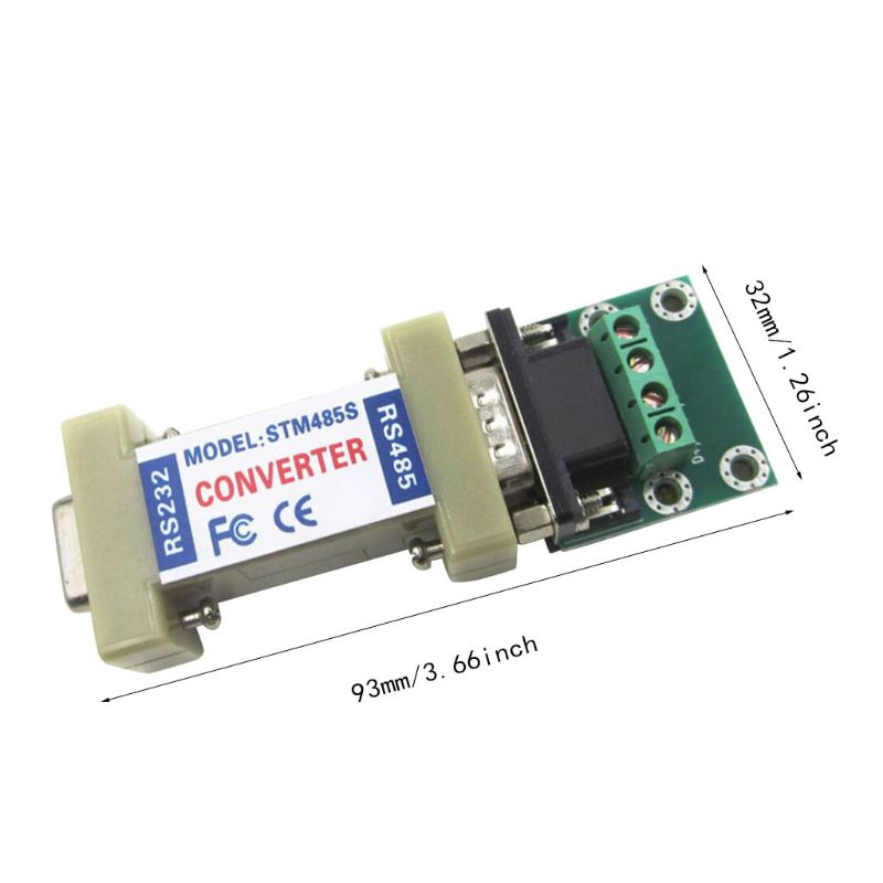 High Performance RS232 To RS485 Converter Rs232 Rs485 Adapter Rs 232 485 Female Device