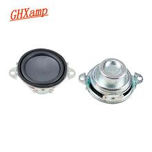 GHXAMP 1.5Inch 41mm Neodymium Bluetooth Speaker Full Range Loudspeaker Unit 4OHM 4W For Filp2 Aura Studio2 Audio Driver 2PCS