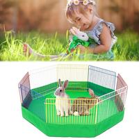 Pet Playpen Portable Small Animal Cage Indoor Metal Wire Yard Playground Fence Kennel Tent for Hamster Rabbits Guinea Pig