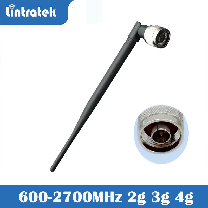 Lintratek 2G 3G 4G Antenna Internal Directional 3dbi With N Connector Indoor Antenna For GSM WCDMA Repeater Booster Amplifier S4