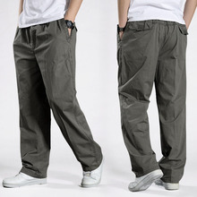 Erkekler Harem taktik pantolon 2020 sarkma pamuklu pantolonlar erkek pantolon artı boyutu spor pantolon erkek Joggers rahat pantolon 6XL