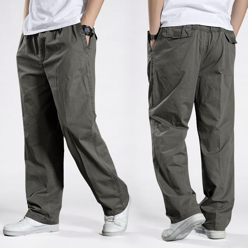 Men Harem Tactical Pants 2020 Sagging Cotton Pants Men Trousers Plus Size Sporting Pant Mens Joggers Casual Pants 6XL