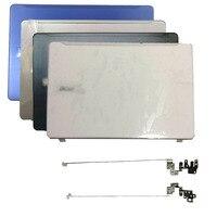 새로운 Acer Aspire F5-573 F5-573G N16Q2 노트북 LCD 뒷면 커버/LCD 경첩 실버 블랙 화이트 블루 탑 케이스 경첩